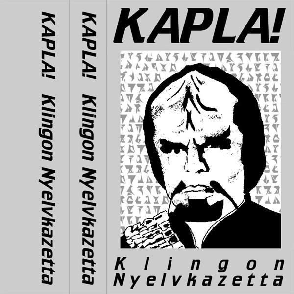 KAPLA! klingon nyelvkazetta